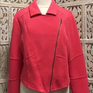 torrid Jackets & Coats - TORRID Textured Knit Moto Jacket